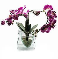 Цветок в стекле 35х21х8,5см (18788)