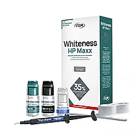 Whitness HP Maxx 35%, набор 3 флакона, система для отбеливания зубов, FGM