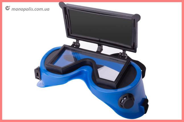 Зварювальні окуляри Vita - відкидні прямокутні, фото 2