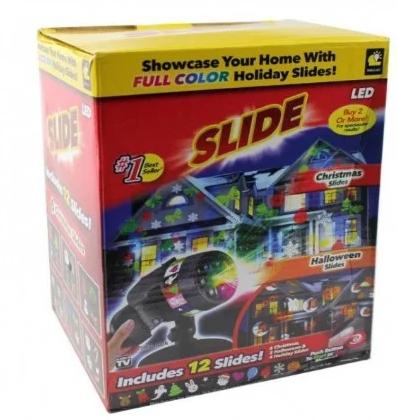 Лазерний проектор STAR Shower SLIDE № 87