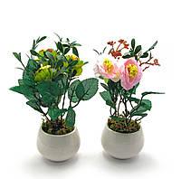 Цветы в горшке (20х7х7см)