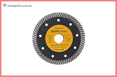Диск алмазный Асеса - 125 x 22,2 мм турбо