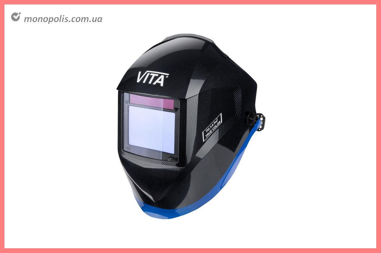 Маска сварочная Vita - TIG 3-A TrueColor PROF, черная