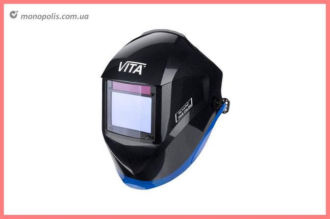 Маска сварочная Vita - TIG 3-A TrueColor PROF, черная, фото 2