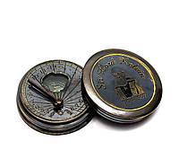 Часы солнечные с компасом 5х5х1,5см (26606)