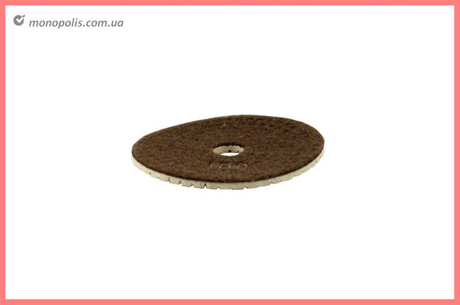 Круг полірувальний черепашка Pilim - 100 мм x P100, фото 2