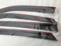 Дефлекторы окон Chery Fora Sedan 2006-2010 Ветровики ANV накладки