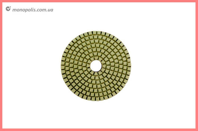 Круг полировальный черепашка Pilim - 125 мм x P100, фото 2