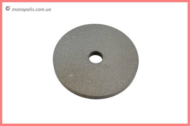 Круг керамика ЗАК - 150 х 16 х 20 мм (14А F80) серый, фото 2