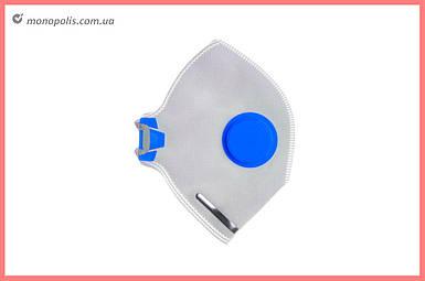 Респиратор Vita - неон-1К FFP-1D синий