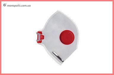 Респиратор Vita - неон-3К FFP-3D красный