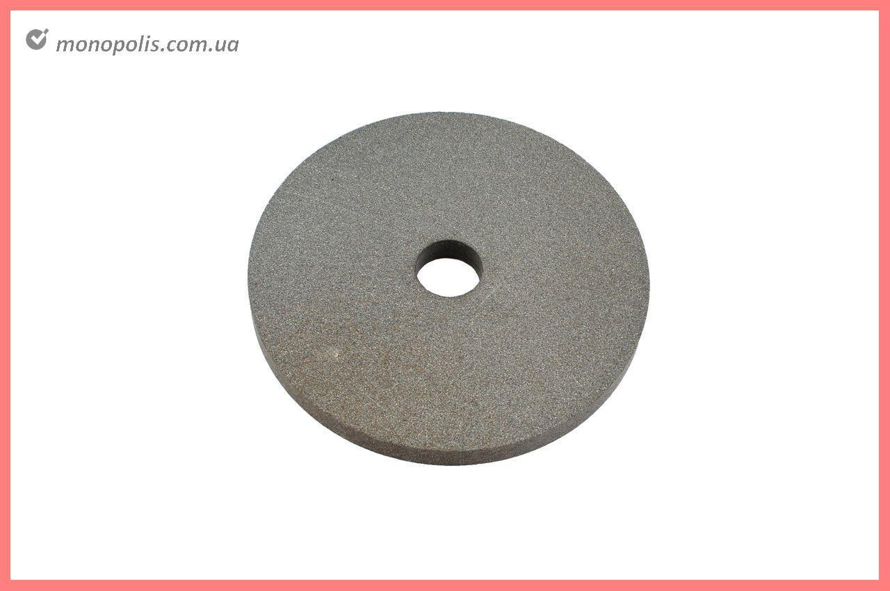 Круг керамика ЗАК - 200 х 16 х 32 мм (14А F150) серый