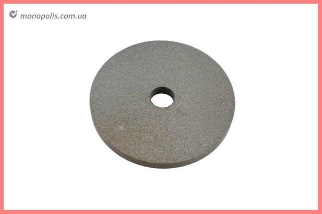Круг керамика ЗАК - 200 х 20 х 32 мм (14А F150) серый, фото 2