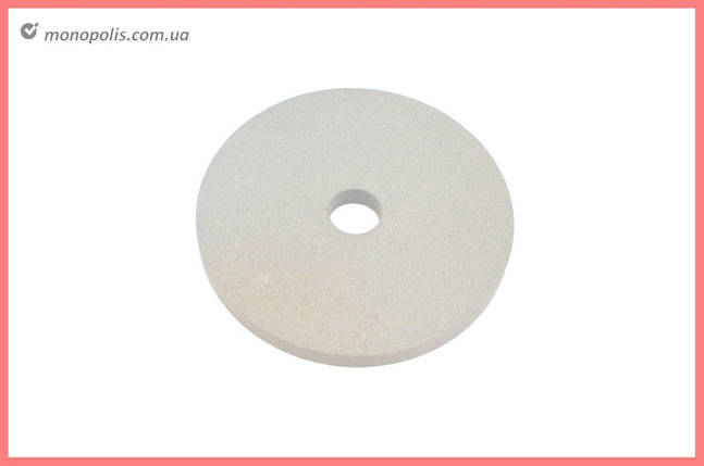 Круг керамика ЗАК - 175 х 16 х 32 мм (25А F80) белый, фото 2