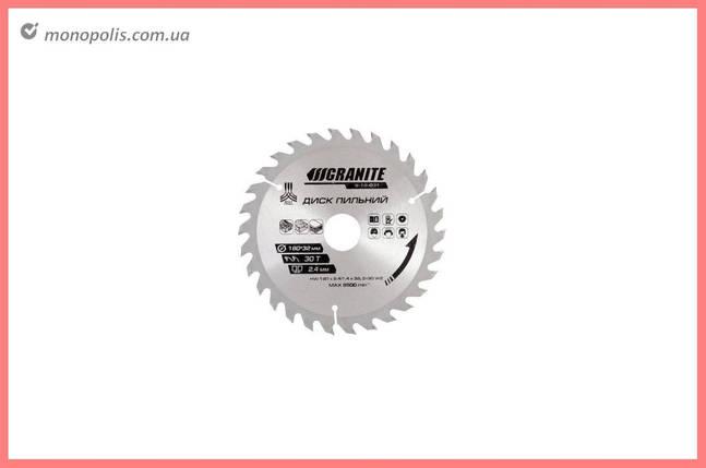 Диск пиляльний Granite - 210 x 24T x 30 мм (30-25,4), фото 2