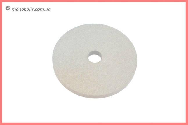 Круг керамика ЗАК - 400 х 40 х 203 мм (25А F80) белый, фото 2