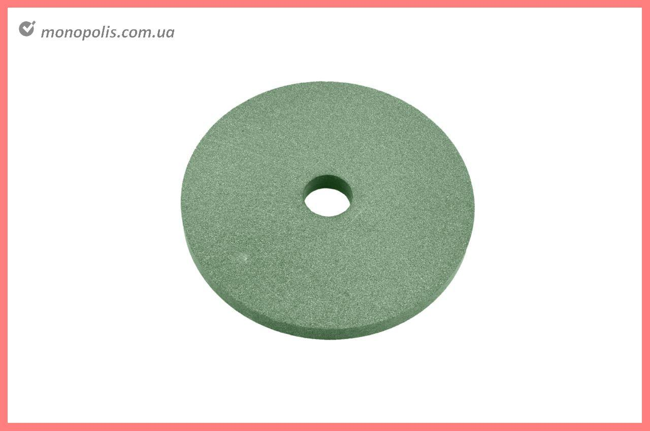 Круг керамика ЗАК - 150 х 16 х 32 мм (64С F80) зеленый