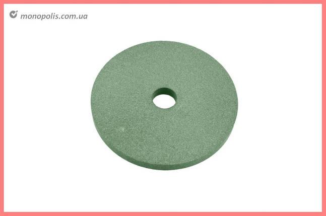 Круг керамика ЗАК - 175 х 16 х 32 мм (64С F80) зеленый, фото 2