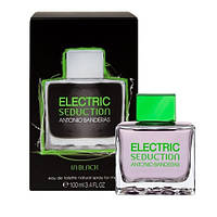 Мужская туалетная вода Antonio Banderas Electric Seduction In Black for Men, 100 мл