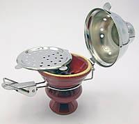 Чашка керамическая для кальяна с крышкой d-7,h-11см (19128)