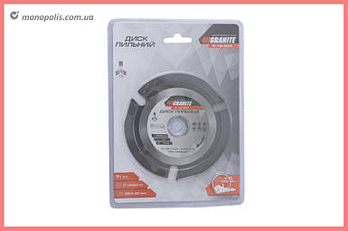 Диск пильный Granite - 125 x 22,2 мм x 3 T