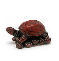 Черепаха каменная крошка коричневая 5,5х3х3см (877)