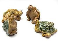 Черепаха керамическая 4 вида 11х8х8см (24551)