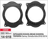 Проставки под динамики CARAV 14-018  для автомобилей Toyota, фото 5