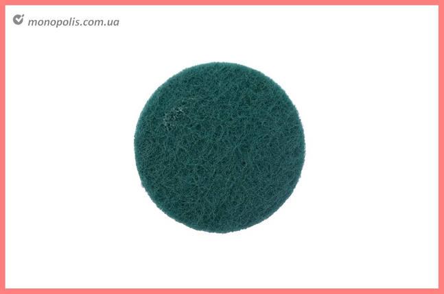 Скотч-брайт на липучке Pilim - 100 мм x P240 зеленый, фото 2