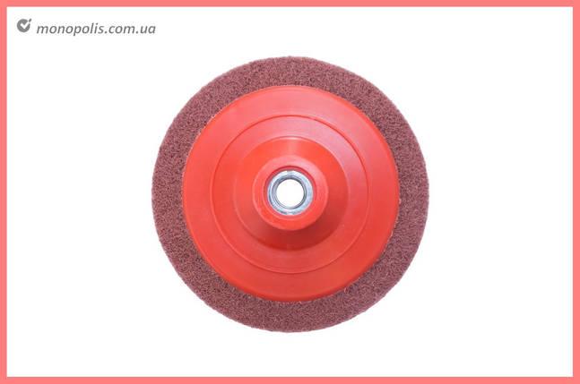 Спінений абразив на УШМ Pilim - 125 x 12 мм x P80 бордовий, фото 2