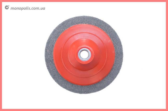 Спінений абразив на УШМ Pilim - 125 x 12 мм x P180 сірий, фото 2