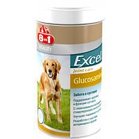 8в1 Глюкозамін харчова добавка з вітаміном С для зміцнення суглобів собак, 110 таблеток