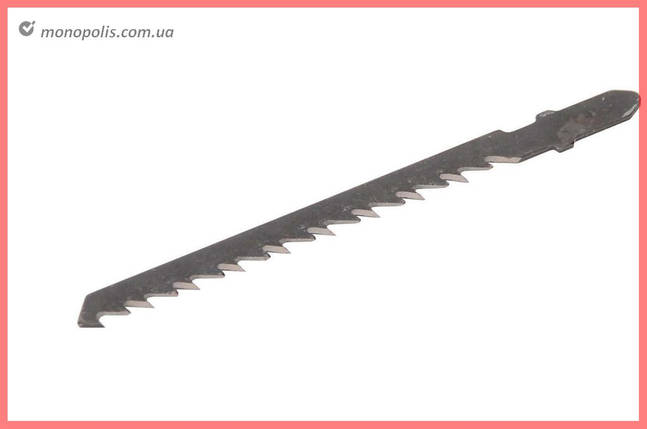 Пиляльне Полотно для лобзика Mastertool - 76 х 4 мм, дерево-пластик (5 шт.) 14-2802, фото 2