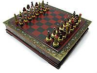Шахматы антик 43,5х37,5х7,5см (28562)