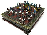 Шахматы антик 43,5х37,5х7,5см (28573)