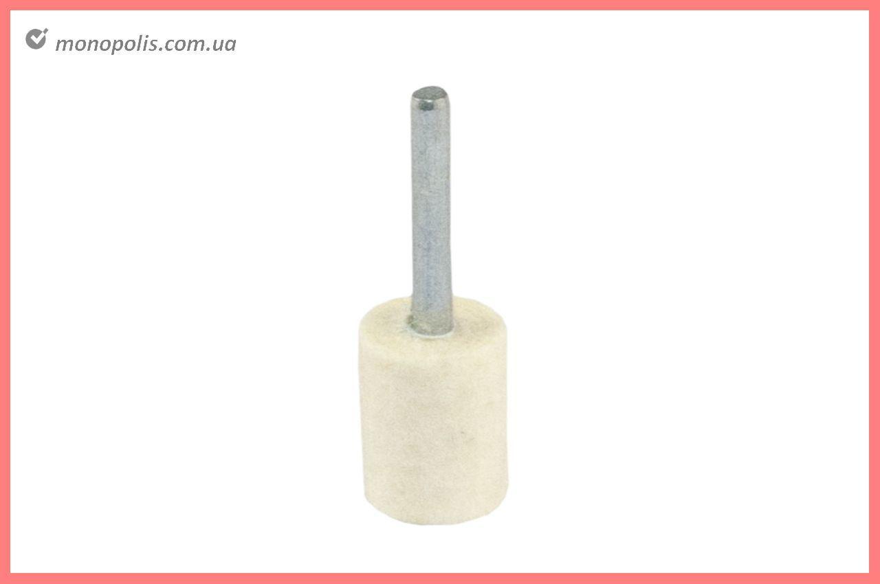 Круг фетровый на дрель Pilim - 8 мм