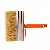 Кисть-ракля 50 х 140 мм натуральна щетина пластмасовий корпус, пластмасова ручка Sparta 841065