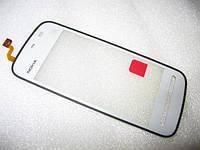 Сенсорное стекло, тачскрин для Nokia 5230, 5228, 5235 белый AAA