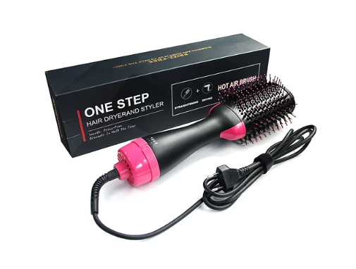 Электрическая расческа для укладки и выпрямления Фен щетка для волос One Step 3 в 1