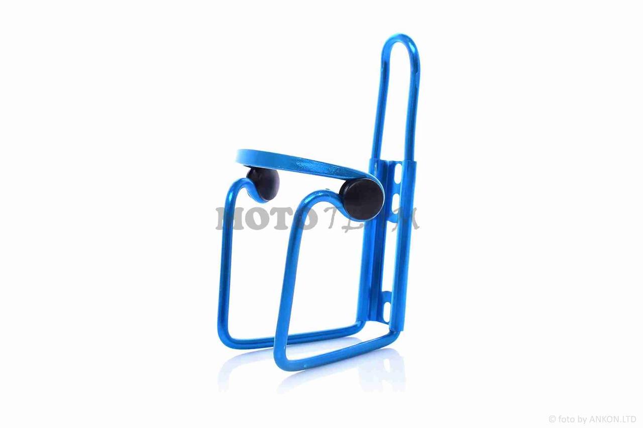 Велосипедный держатель бутылки алюминий синий