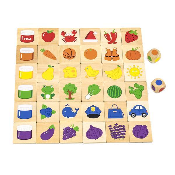Набор для обучения и НУШ Viga Toys Изучаем цвета (44505)