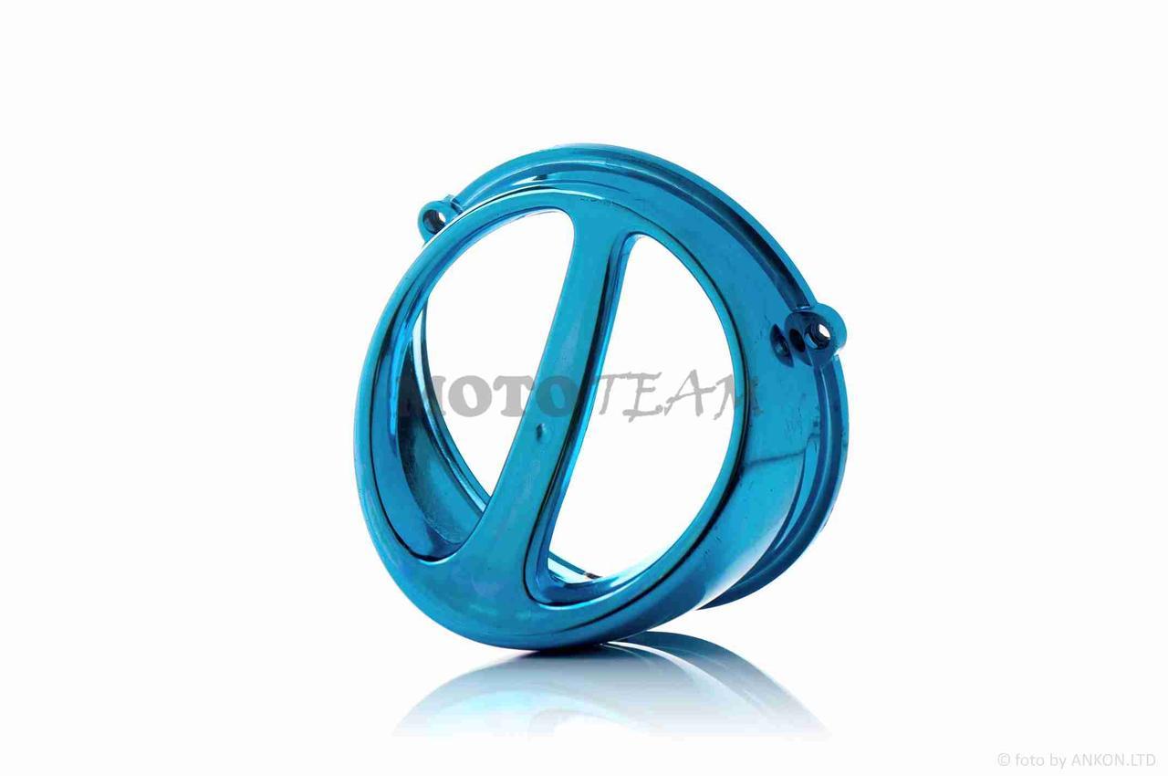 Воздухозаборник стайлинговый  синий