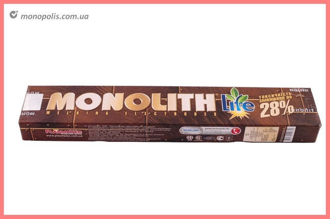 Електроди PlasmaTec - Monolith 3 мм х 0,5 кг, (РЦ), фото 2