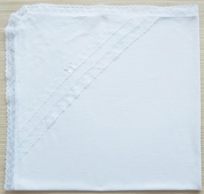 Крыжма для крещения девочки Одежда для девочек 0-2 Восток-текстиль Украина 102011 Белый