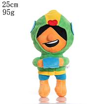 Плюшевая игрушка Леон из игры Бравл Старс Brawl Stars 25 см.