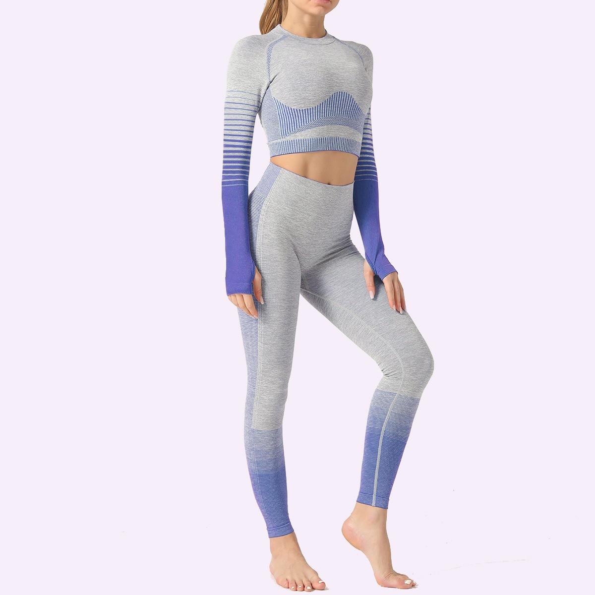 Спортивный женский костюм для фитнеса бега йоги. Спортивные лосины леггинсы рашгард для фитнеса Размер M серый