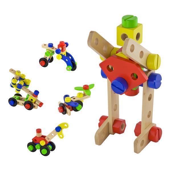 Деревянный конструктор Viga Toys 48 эл. (50383)