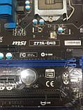 Материнская плата MSI Z77A-G43 (Socket LGA 1155, Intel Z77), фото 2