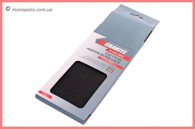 Сетка абразивная Granite - 107 х 280 мм, Р220 (в комплекте 10 шт.), фото 2