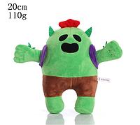 Плюшевая игрушка Спайк из игры Бравл Старс Brawl Stars 20 см., фото 1